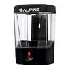 Alpine Automatic Hands-Free Transparent Gel Hand Sanitizer/ Liquid Soap Dispenser ALP 432-1-BLK