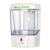 Alpine Automatic Hands-Free Transparent Gel Hand Sanitizer/ Liquid Soap Dispenser ALP 432-1-WHI