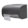 Alpine Side-by-Side Double Roll Toilet Tissue Dispenser ALP 452-GRY