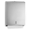 paper towel, paper towel dispenser: Alpine - C-Fold/Multifold Paper Towel Dispenser