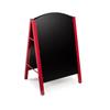 Alpine A-Frame Floor Standing Marker Board Sign ALP 491-01-RED