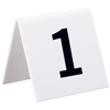 Office Accessories: Alpine - Self Standing Number Cards
