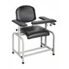 Alpine AdirMed Padded Blood Drawing Chair ALP997-01-BLK