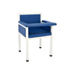 Alpine AdirMed Luxe Upholstered Blood Drawing Chair Designed for Style, Patient Comfort ALP 997-02-BLU