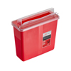 Alpine AdirMed Sharps Container 5 Quart with Mailbox Style Horizontal Lid - Single Pack ALP 998-02-01