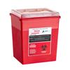 Alpine AdirMed Sharps Container 8 Quart Flip-Open Lid - 2 Pack ALP 998-03-02
