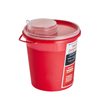 Alpine AdirMed Sharps Container 1.5 Quart Round-Shaped - Single Pack ALP 998-05-01