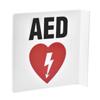 Alpine AdirMed 90D AED Sign 8 x 8. ALP 999-03