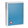 Alpine AdirMed Large Medical Security Cabinet, Dual Locks, Blue ALP 999-04-BLU