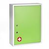 Alpine AdirMed Large Medical Security Cabinet, Dual Locks, Green ALP 999-04-GRN