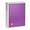 Alpine AdirMed Large Medical Security Cabinet, Dual Locks, Purple ALP 999-04-PUR