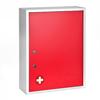 Alpine AdirMed Large Medical Security Cabinet, Dual Locks, Red ALP 999-04-RED