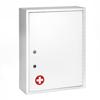 Alpine AdirMed Large Medical Security Cabinet, Dual Locks, White ALP 999-04-WHI
