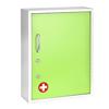 Alpine AdirMed Medicine Cabinet w/ Pull-Out Shelf & Document Pocket, Green ALP 999-06-GRN