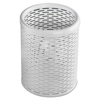 Artistic Artistic® Urban Collection Punched Metal Pencil Cup AOP ART20005WH