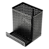 Artistic Artistic® Urban Collection Punched Metal Pencil Cup with Cell Phone Stand AOP ART20014