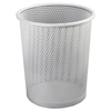 Artistic Artistic® Urban Collection Punched Metal Wastebin AOP ART20017WH