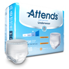 Attends Advanced® Heavy Absorbency Protective Underwear, Large, 72/CS MON 23523100