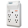 American Power Conversion APC® Power-Saving Timer Essential SurgeArrest Surge Protector APW P4GC