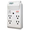 surge protectors: APC® Power-Saving Timer Essential SurgeArrest Surge Protector