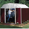 Storage Sheds: Arrow Sheds - Red Barn 10' x 14'