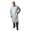 Atlantis Plastics Disposable Medium-Weight Soft Embossed Poly Aprons ATL 2PE2V