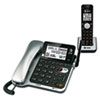 Vtech Communications AT&T® CL84102 DECT 6.0 Corded and Cordless Telephone Answering System ATT CL84102