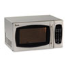 microwave and toaster ovens: Avanti 0.9 Cubic Foot Capacity Stainless Steel Microwave Oven