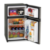 Avanti Avanti Counter-Height 3.1 Cu. Ft. Two-Door Refrigerator/Freezer AVARA3136SST