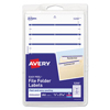 Avery Avery® Print or Write File Folder Labels AVE 05200