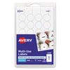 Avery® Removable Self-Adhesive Multi-Use ID Labels