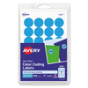 Avery Avery® Print or Write Removable Color-Coding Labels AVE 05461