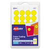 Avery Avery® Print or Write Removable Color-Coding Labels AVE 05462
