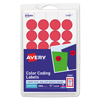 Avery Avery® Print or Write Removable Color-Coding Labels AVE 05466
