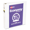 folders and binders and planners: Avery® Economy View Round Ring Binder