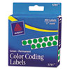 Labels, Stamps, Index Dividers: Avery® Permanent Self-Adhesive Round Color-Coding Labels