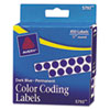 Avery Avery® Permanent Self-Adhesive Round Color-Coding Labels AVE 05793