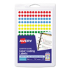 Avery Avery® Removable Self-Adhesive Round Color-Coding Labels AVE05795