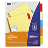 Labels, Stamps, Index Dividers: Avery® WorkSaver® Big Tab™ Paper Dividers
