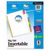 Avery Avery® WorkSaver® Big Tab™ Paper Dividers AVE 11123