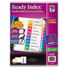 Avery Avery® Ready Index® Contemporary Multicolor Table of Contents Dividers AVE 11135