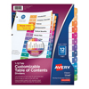 Avery Avery® Ready Index® Contemporary Multicolor Table of Contents Dividers AVE 11141