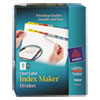 Avery Avery® Index Maker® Label Dividers AVE 11424