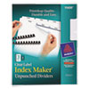 Avery Avery® Index Maker® Label Dividers AVE 11430