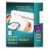 Avery Avery® Index Maker® Label Dividers AVE11436