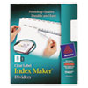 Avery Avery® Index Maker® Label Dividers AVE11437