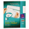 Avery Avery® Big Tab™ Index Maker® AVE11491