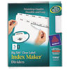 Avery Avery® Big Tab™ Index Maker® AVE11492