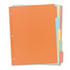 Clean and Green: Avery® Write-On Plain Tab Dividers