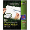 Avery Avery® EcoFriendly Index Maker® Label Dividers, Clear AVE11580